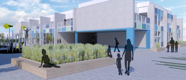 Een nieuwe school voor 't Blokje