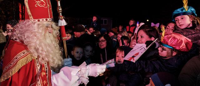 Zaterdag 17 november wordt Sinterklaas weer in Wuustwezel verwacht.