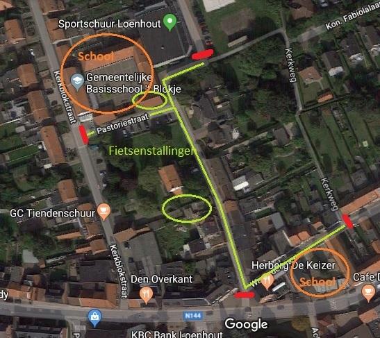 Schoolstraat 't Blokje wordt uitgebreid